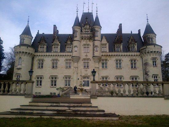 Chateau Hotel Savigny: la façade du château