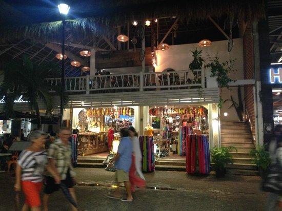 The Yak: two blocks up nightlife