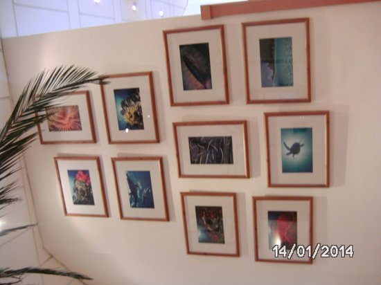 The Waterfront Hotel: foto-pictures at the lobby