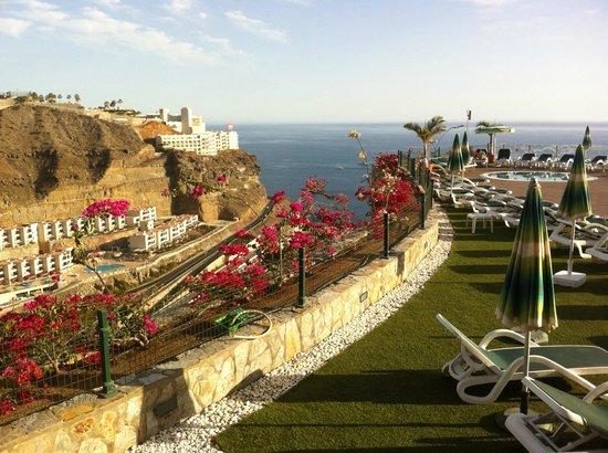 Serenity Apartments : Preciosas vistas desde la terraza