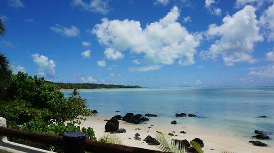 Pacific Resort Aitutaki : view from room 400