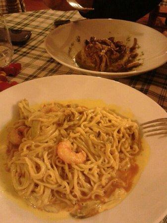 La Vecchia Griglia: Tagliolini e lasagnette