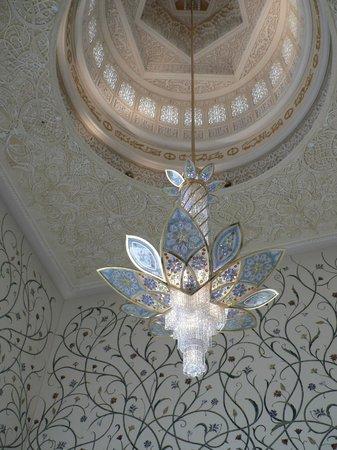 Scheich-Zayid-Moschee: Innenansicht