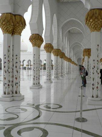 Scheich-Zayid-Moschee: Innenhof