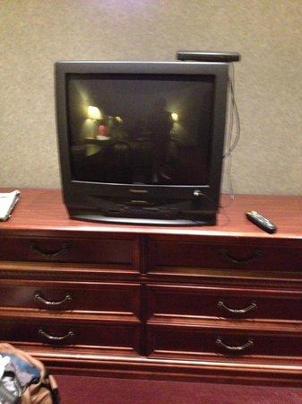 Pocono Palace Resort: vhs huge tv