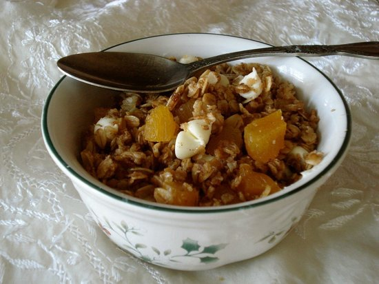 Carriage House Bed and Breakfast : Homemade Carriage House Granola