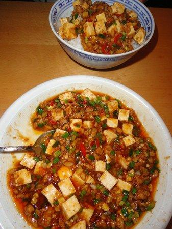 Lao Wai: sechuan tofu with mince