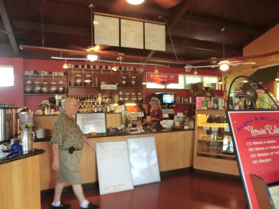 Kalaheo Cafe & Coffee Company: inside