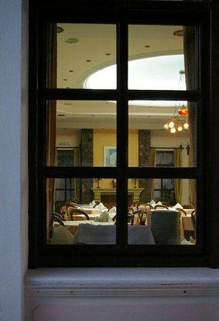 Veggera Hotel : View restaurant.