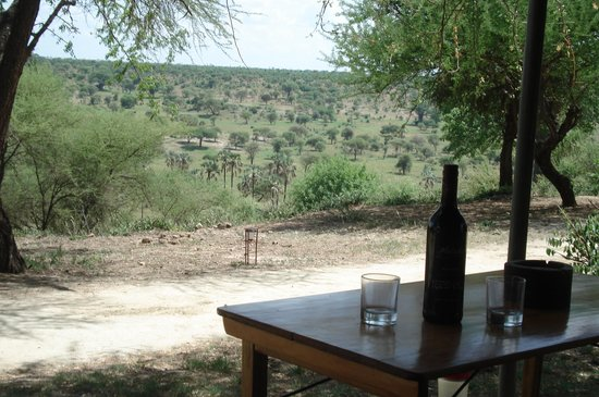 Tarangire Safari Lodge : View from tent