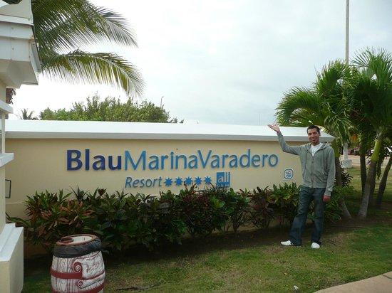 Blau Marina Varadero Resort: Main Entrance of Hotel