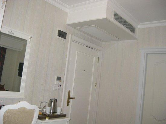 Albinas Hotel: Room entrance