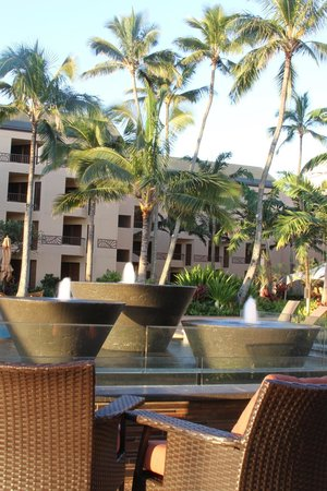 Courtyard Kaua'i at Coconut Beach: From the courtyard