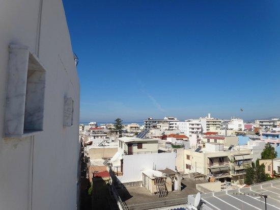 Atlantis City Hotel : vista da varanda do quarto