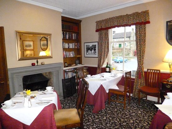 The Inn at Hawnby: Mexborough room (imagine the roaring fire!)