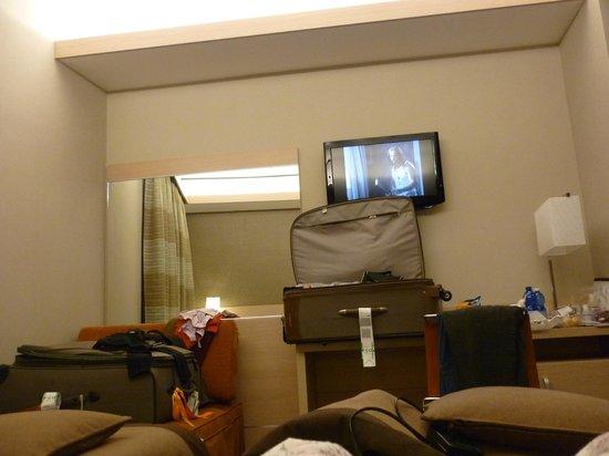 iQ Hotel Roma: Quarto espaçoso