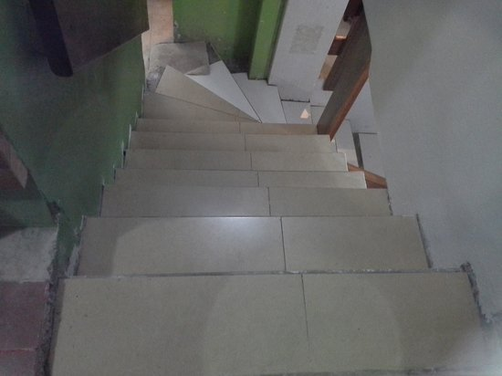 Machu Picchu Green Nature: escada perigosa
