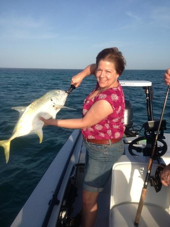 AWS Charters, Key West Flats Fishing: Sue's Jack Crevalle