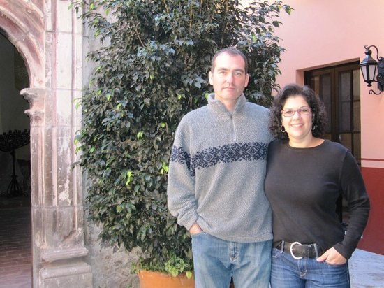 Antigua Capilla Bed and Breakfast : The hosts