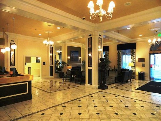 Lobby Picture Of Wyndham Canterbury At San Francisco