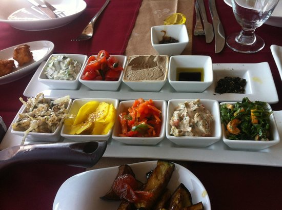 Restaurant Roberg: Starter salads