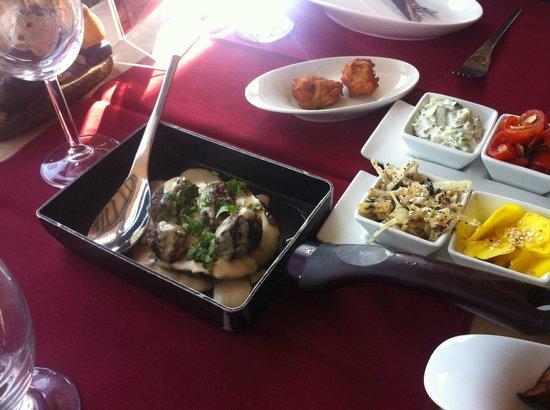 Livnim Israel  city pictures gallery : Starter salads Picture of Restaurant Roberg, Livnim TripAdvisor