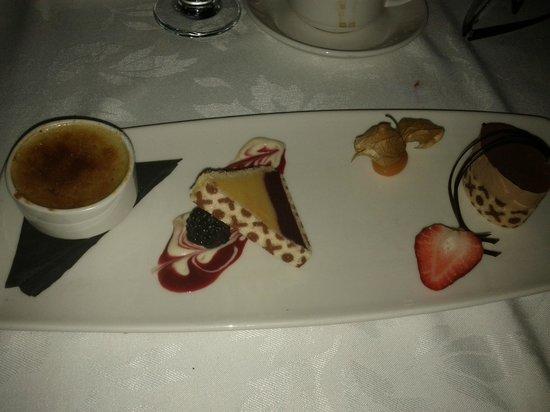 La Terrazza: Tasting Menu - Dessert Trio
