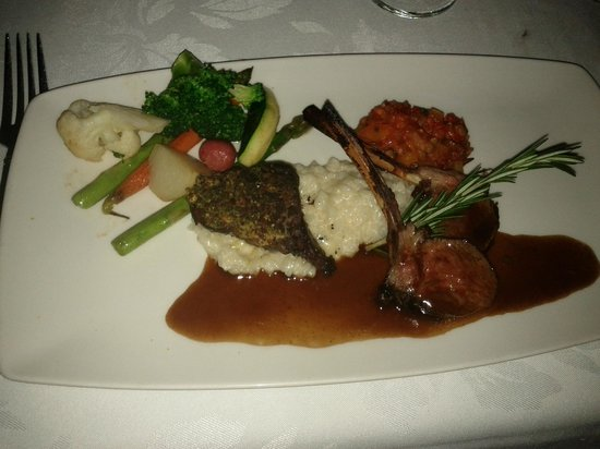La Terrazza: Tasting Menu - Lamb Duo