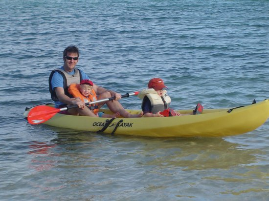 Nonsuch Bay Resort: Kayak!