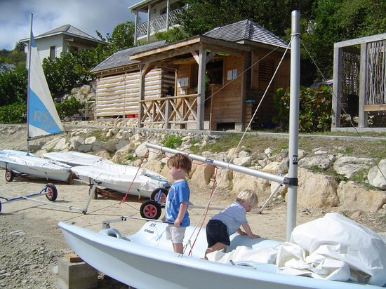 Nonsuch Bay Resort: Sailing area