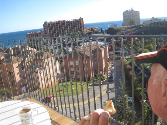 Hotel & Spa Benalmadena Palace : View from Balcony