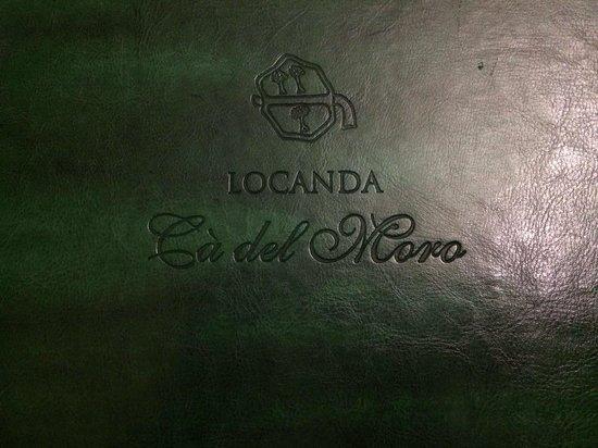 Ca del Moro: Menù