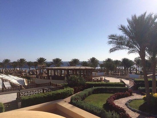 Sharm Grand Plaza: View from our room 2203 Orca