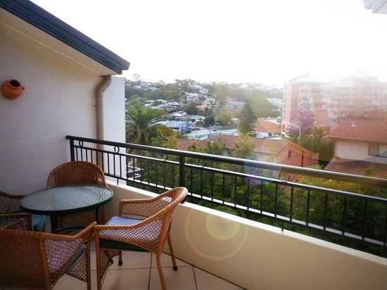 Terrigal Sails Serviced Apartments: view!