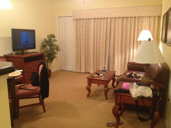 The Point Orlando Resort: Sitting room