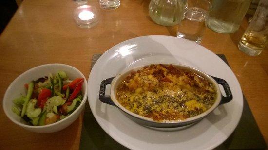 Black Sheep Bistro: Lasagne!