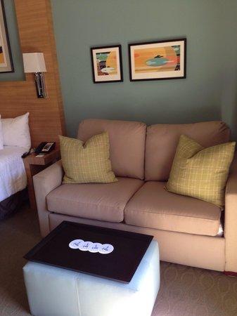Bay Lake Tower at Disney's Contemporary Resort : Sleeper sofa