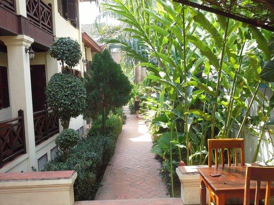 Villa Saykham: small garden