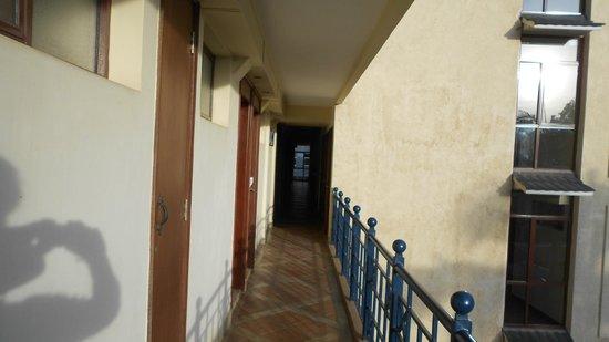 The Heron Portico: Corridor