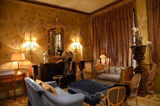 El Palace Hotel: un salotto