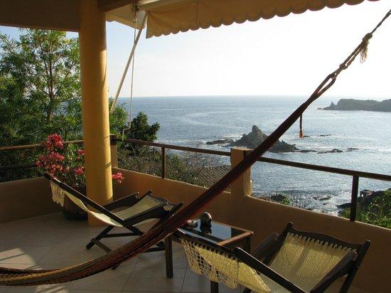 Casa Pan de Miel: Balcony outside my room