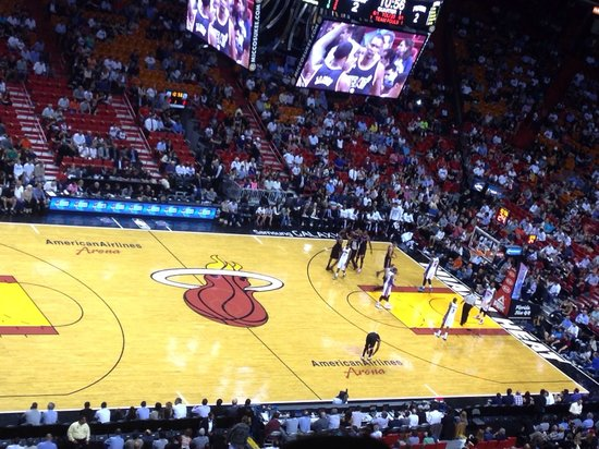 American Airlines Arena: Great Game Heats Vs Detroit