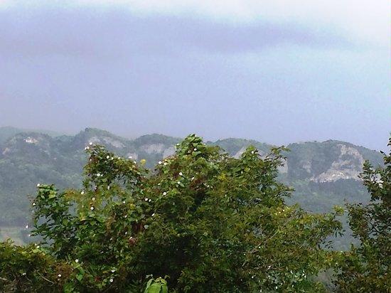 Casona Bella Vista: Beautiful mountain view!