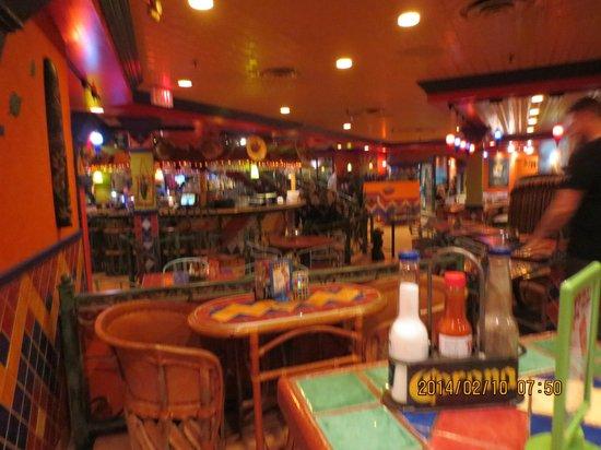 Julio's Barrio: Restaurant inside