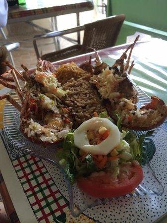 Scooby's : Lobster dinner