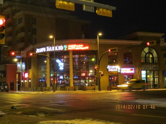 Julio's Barrio: Outside front