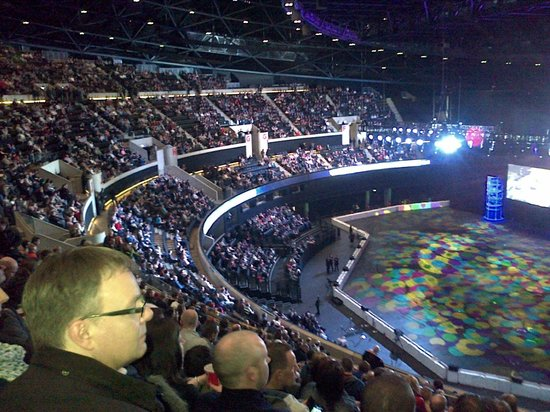 Inside Auditorium Picture Of The Sse Hydro Glasgow