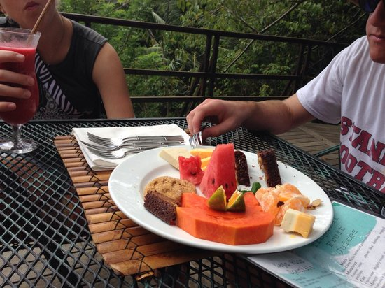 Lapa Rios Ecolodge Osa Peninsula: Afternoon snack