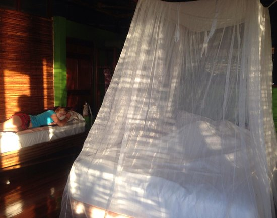 Lapa Rios Ecolodge Osa Peninsula: Net for bed for those of us who don't care for little critters