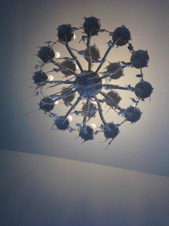 Hotel Beethoven Wien: chandelier